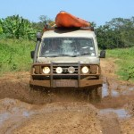 4x4 fun at Kosi Bay Amangwane