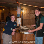 Dinner is served! Spearfishing catches at Amangwane