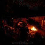 kosi bay accommodation campfire firepit